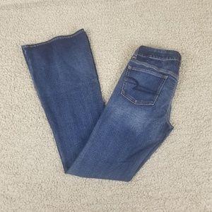 American Eagle Boho Artist Flare Jeans 8 X-Long